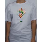 Camiseta Branca - Tie Dye
