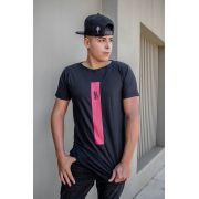 Camiseta Long Squad  - Preta