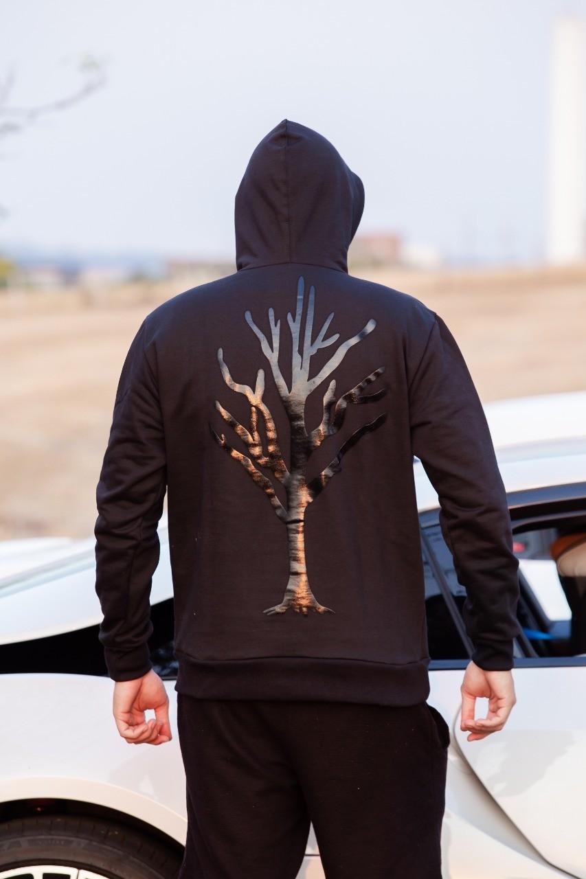 Blusa Moletom Caçadores de Lendas - Árvore Preta
