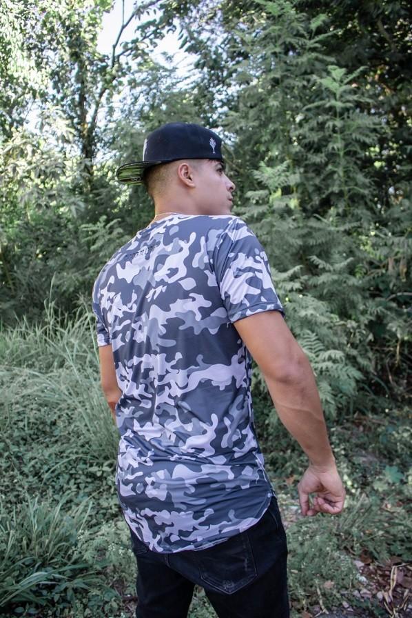 Camiseta Camuflada - INFANTIL