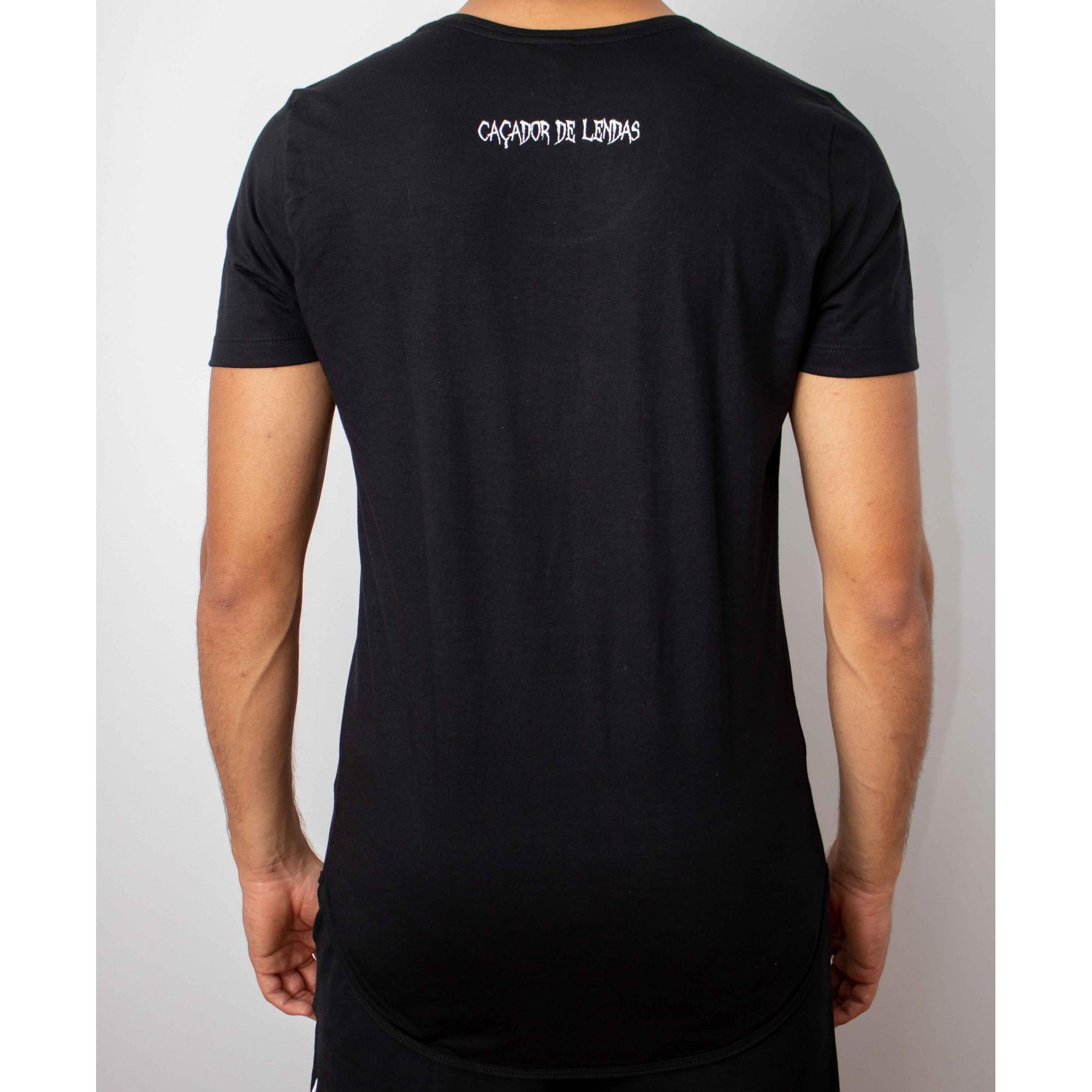 Camiseta Long Hunters - Preta