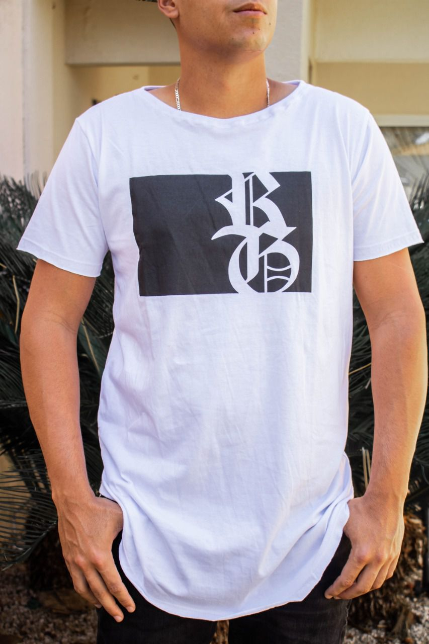Camiseta Long RG - Branca