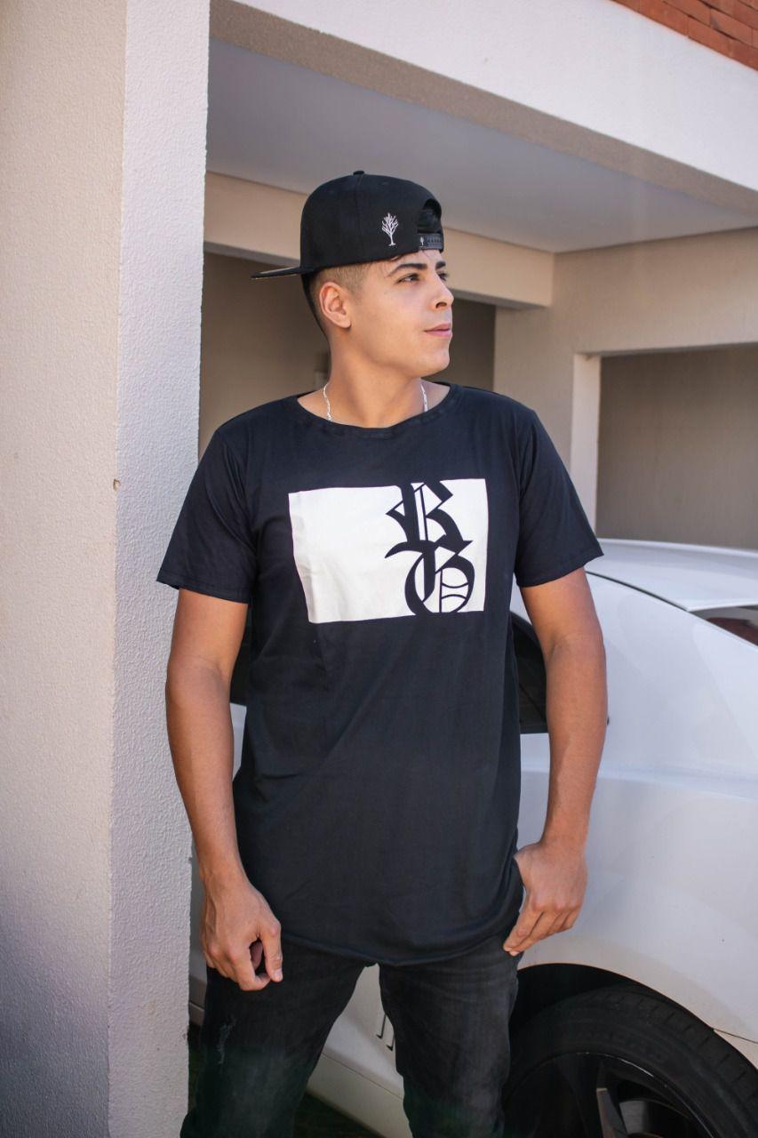 Camiseta Long RG - Preta