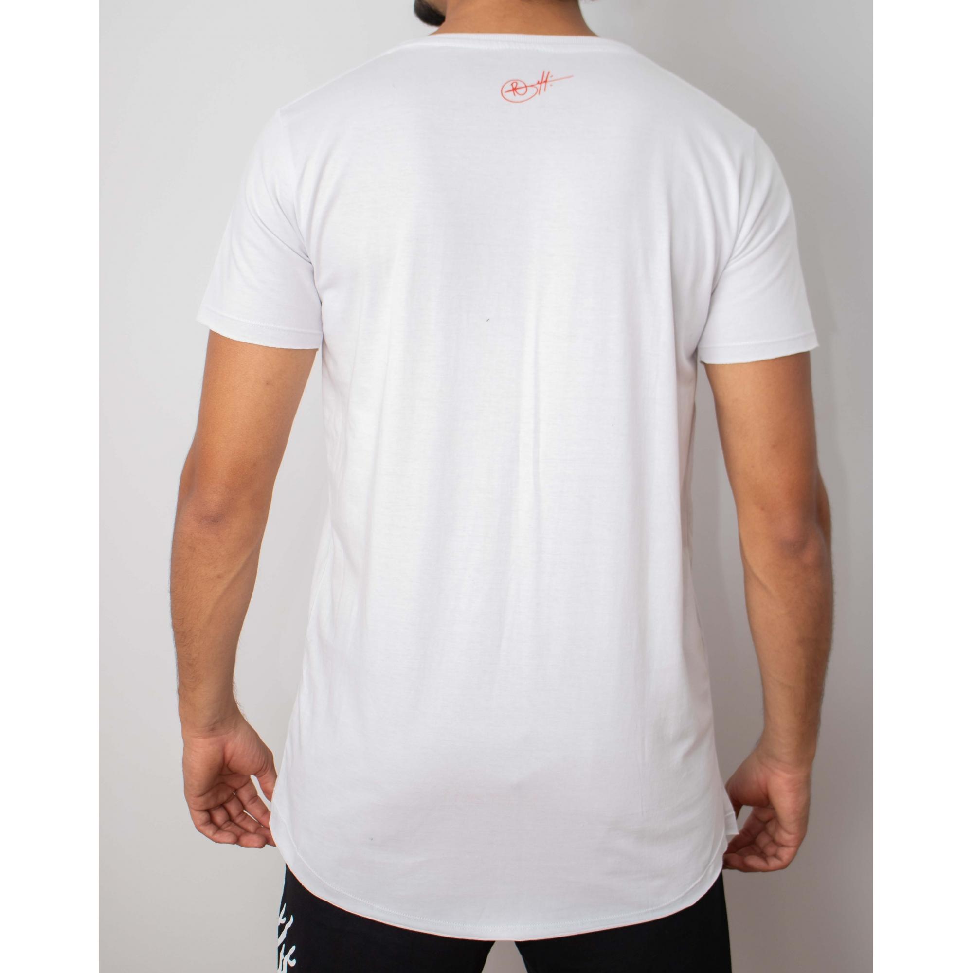 Camiseta Long Squad - Branca