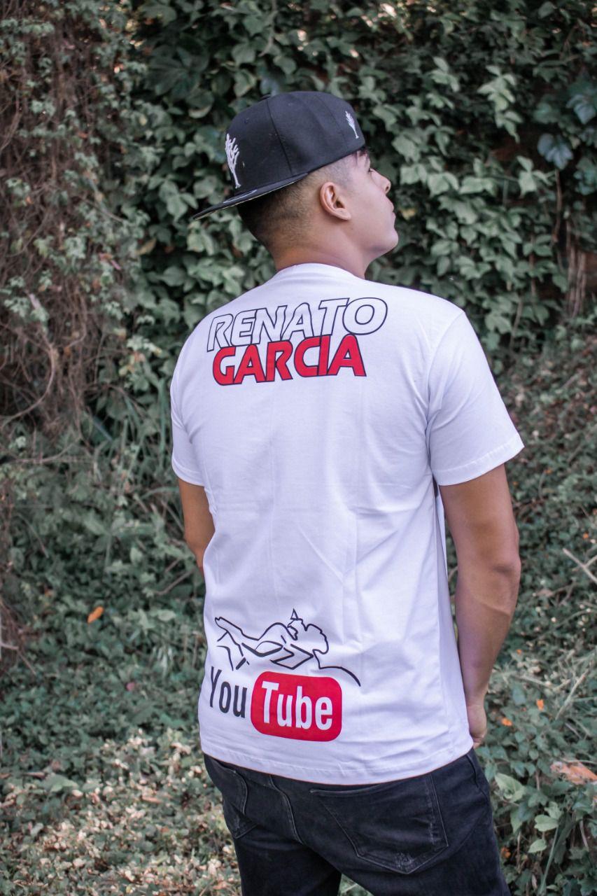 Camiseta Oficial Branca Renato Garcia