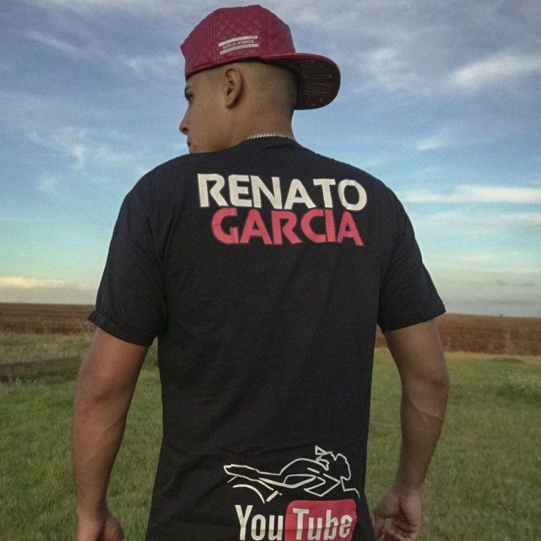 Camiseta Oficial Preta Renato Garcia - INFANTIL