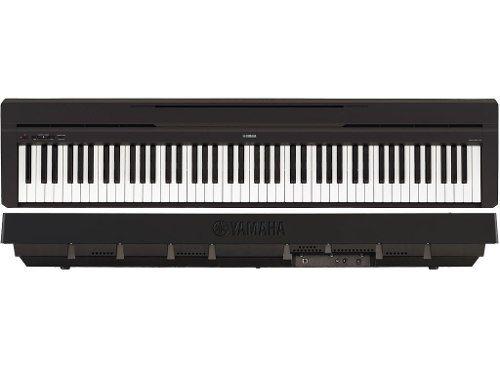 Piano Digital Yamaha P-45 88 Teclas Preto