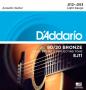 Encordoamento D'Addario 80/20 Bronze .012-.053