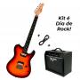 Guitarra Tagima - GRACE-700 - Cacau Santos + Cubo Tagima Black Fox 20w + Cabo
