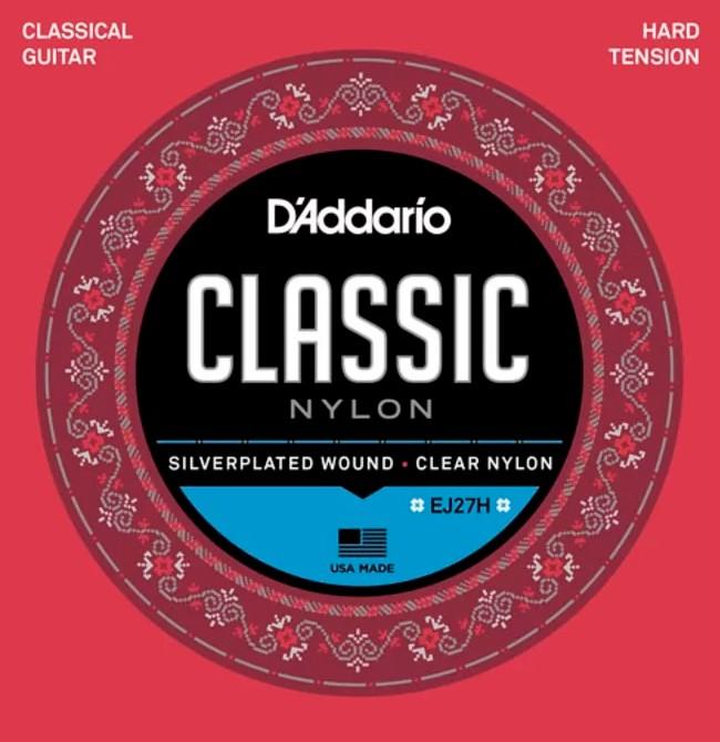 Encordoamento D'Addario Classic Nylon Alta Tensão
