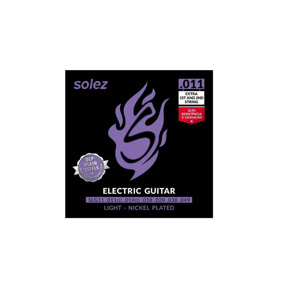 Encordoamento Solez Guitarra SLG11
