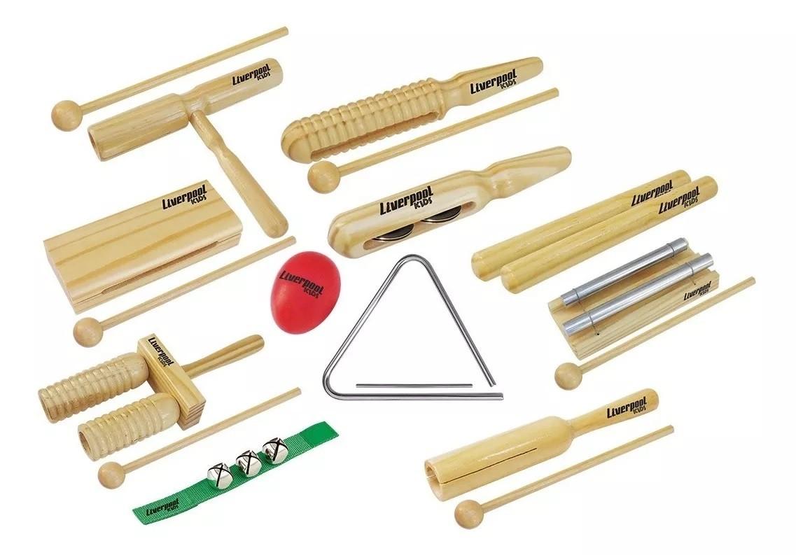 Instrumentos De Musicalização Infantil Liverpooll Inf 03