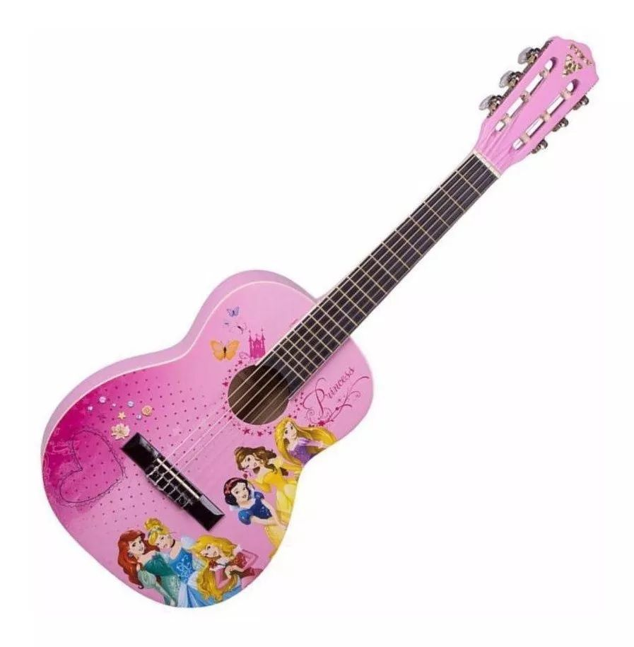 Violao Infantil Acustico Phx Disney as Princesas