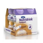 NDRINK COMPACT PROT CAPUCCINO 4 UN 125 ML