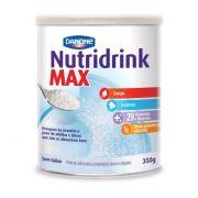 NUTRIDRINK MAX PO SEM SABOR LATA 350 G
