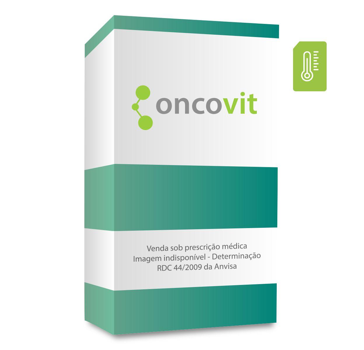 Evodazin 200mg, caixa com 1 frasco-ampola com 20mL de pó para solução de uso intravenoso (embalagem hospitalar)