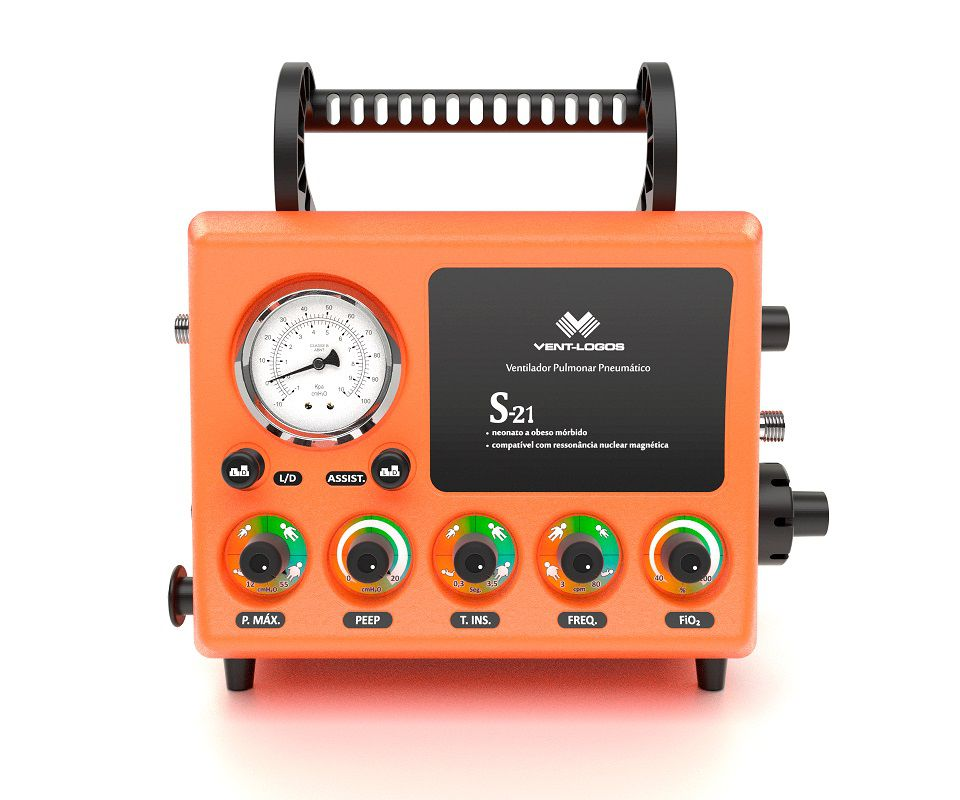 S21 - Ventilador Mecânico Pneumático