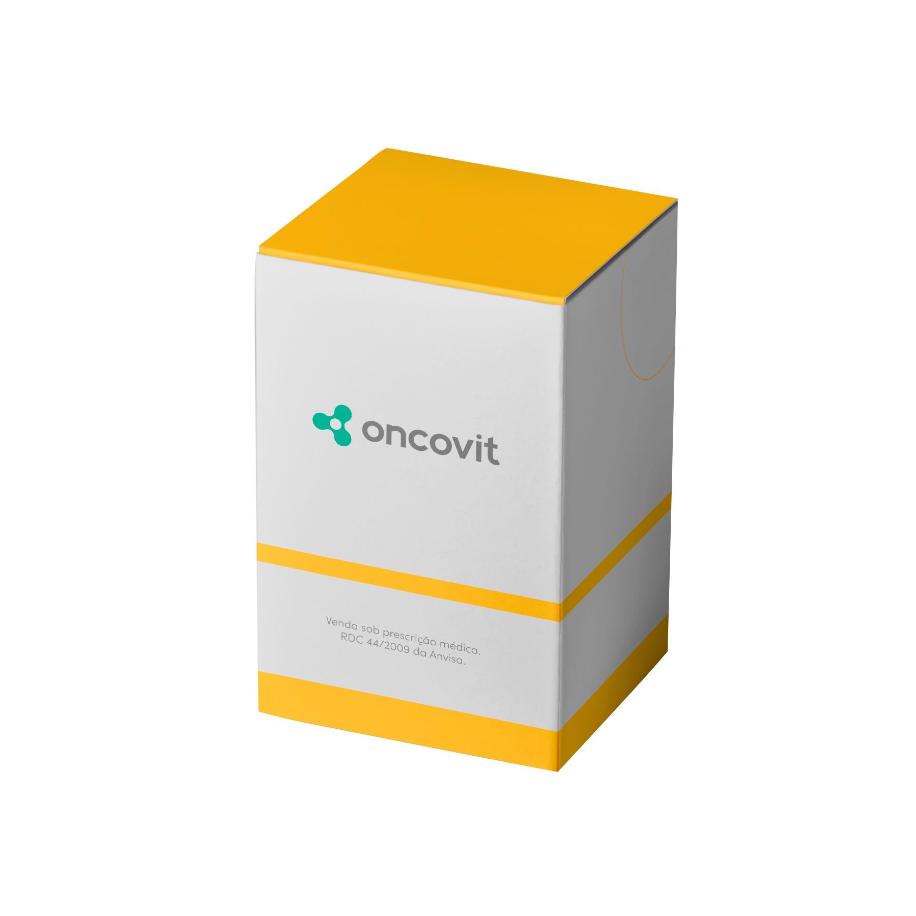 Temozolomida 140mg caixa com 5 cápsulas duras Eurofarma