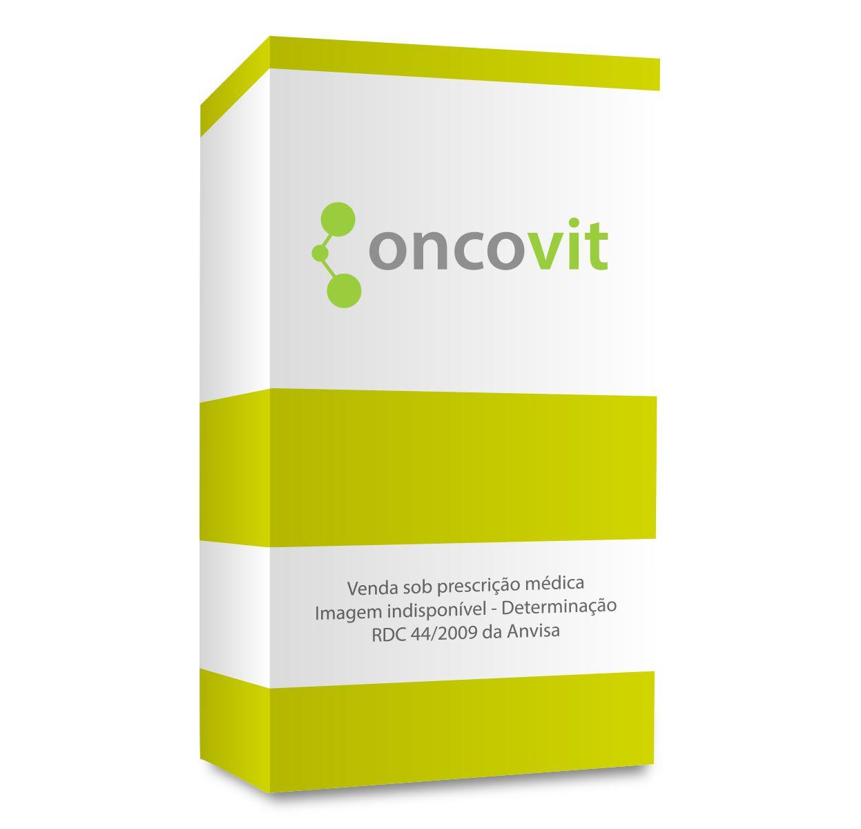 Temozolomida Sun Pharma 180mg, caixa com 5 cápsulas gelatinosas duras