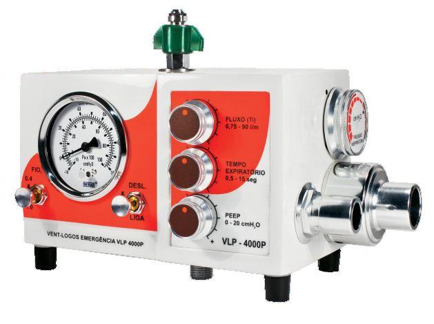 VLP400P Ventilador Mecânico Pneumático