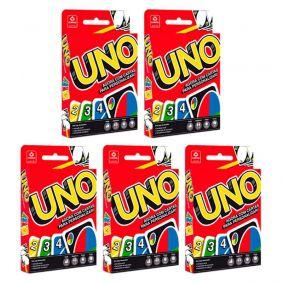 5x Jogo de Cartas UNO - COPAG