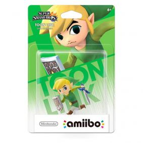 Amiibo Toon Link (Link Cartoon) Super Smash Bros. - Nintendo