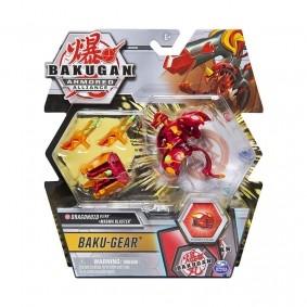 Bakugan Armored Alliance - Baku-Gear: Dragonoid Ultra + Magma Blaster