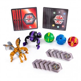 Bakugan Battle Planet - Battle Pack: Darkus Hydorous & Aurelus Garganoid