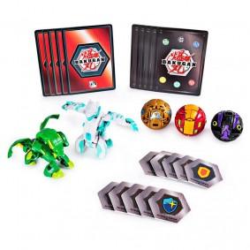 Bakugan Battle Planet - Battle Pack: Haos Serpenteze & Ventus Howlkor