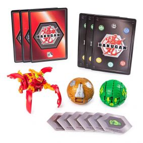 Bakugan Battle Planet - Starter Pack: Pyrus Mantonoid Ultra