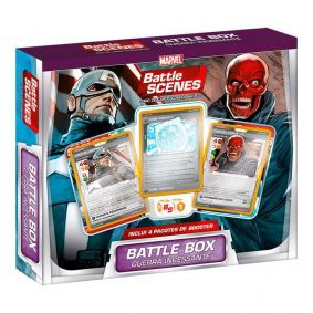 MARVEL Battle Scenes Battle Box Especial - Guerra Incessante