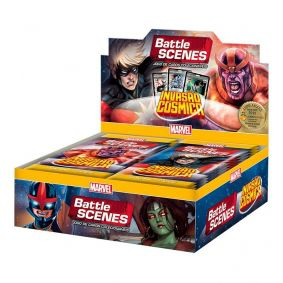 MARVEL Battle Scenes Booster Box (36 unidades) Invasão Cósmica