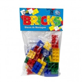 Blocos de Montagem: Bricks - 29 Peças | Pais & Filhos