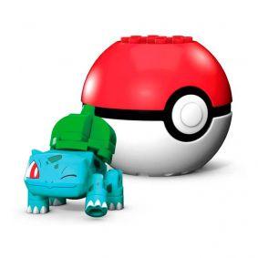 Blocos de Montar Mega Construx Pokémon - Bulbasaur + Poké Bola | Mattel