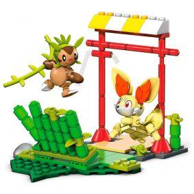 Blocos de Montar Mega Construx Pokémon - Chespin VS. Fennekin | Mattel