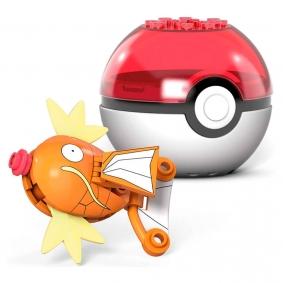Blocos de Montar Mega Construx Pokémon - Magikarp + Poké Bola   Mattel