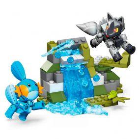 Blocos de Montar Mega Construx Pokémon - Mudkip VS. Poochyena | Mattel