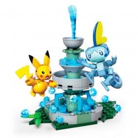 Blocos de Montar Mega Construx Pokémon - Pikachu VS. Sobble | Mattel