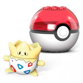 Blocos de Montar Mega Construx Pokémon - Togepi + Poké Bola | Mattel