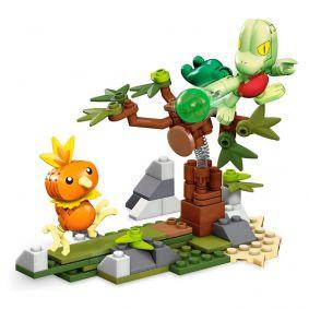 Blocos de Montar Mega Construx Pokémon - Torchic VS. Treecko | Mattel