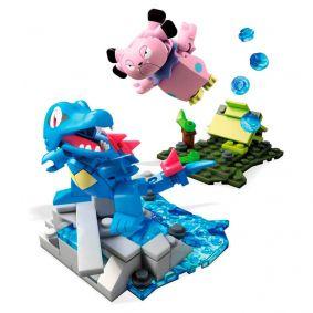 Blocos de Montar Mega Construx Pokémon - Totodile VS. Snubbull | Mattel
