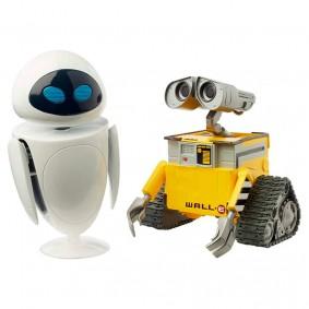 Boneco Articulado Pixar - WALL-E & EVE | Mattel