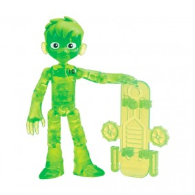 Boneco Ben 10 Figuras de Ação - Ben Glitch Fora do Omnitrix | Playmates/Sunny