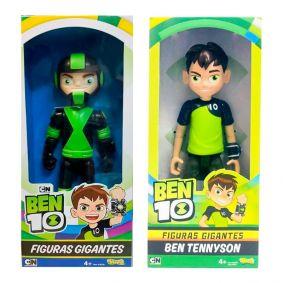 Boneco Ben 10 Figuras Gigantes - Ben Tennyson + Rustbuggy Ben | Playmates/Sunny