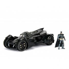 Boneco Metals Die Cast 1:24 - Batmobile (Arkham Knight) com Figura Batman | Jada/DC