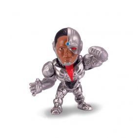 "Boneco MetalFigs 2,5"" - Justice League Cyborg #M544 
