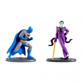 Boneco Mini Figuras Justice League - Classic Batman + The Joker| Mattel/DC