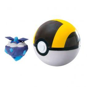Boneco Pokémon Clip N' Carry - Carbink + Ultra Bola | TOMY/Sunny