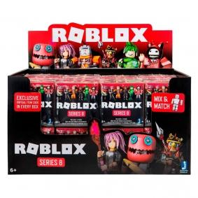 Boneco Roblox Cubo Surpresa - Series 8 Display com 24 peças