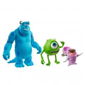 Bonecos Articulados Pixar - Mike Wazowski & Boo + Sulley | Mattel
